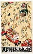 Vintage London underground - Lure of the Underground